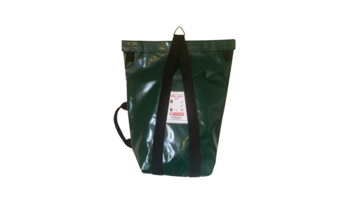 Extra small lifting bag (ESLB) showing in green.